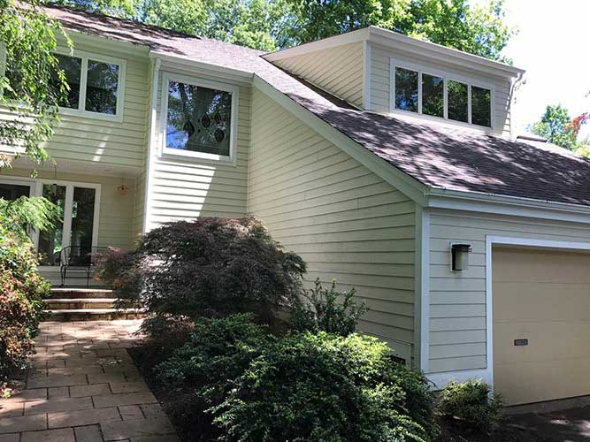 After New Siding in West Hartford, CT