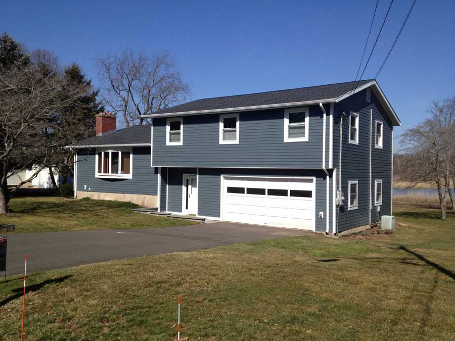 After New Siding in Branford, CT