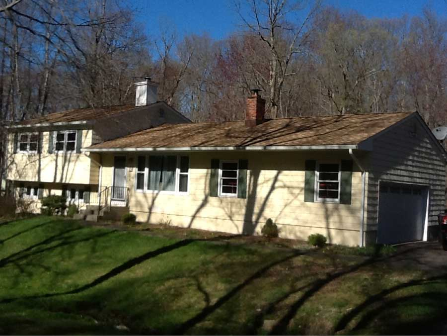 Before Low-Maintenance Siding Installation in Ridgefield, CT