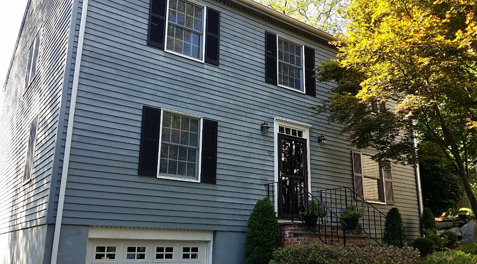 Before Low Maintenance Siding in Old Greenwich, CT