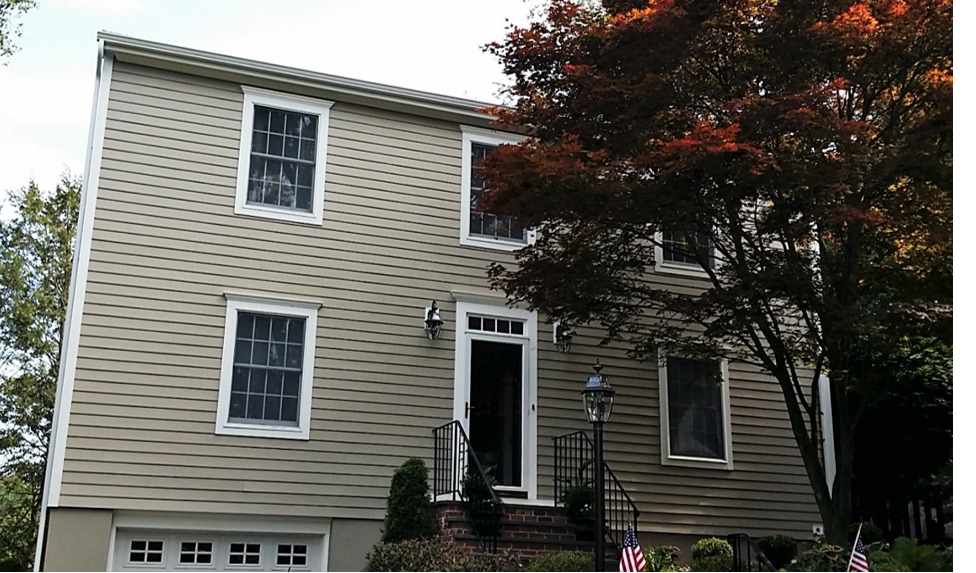 After Low Maintenance Siding in Old Greenwich, CT