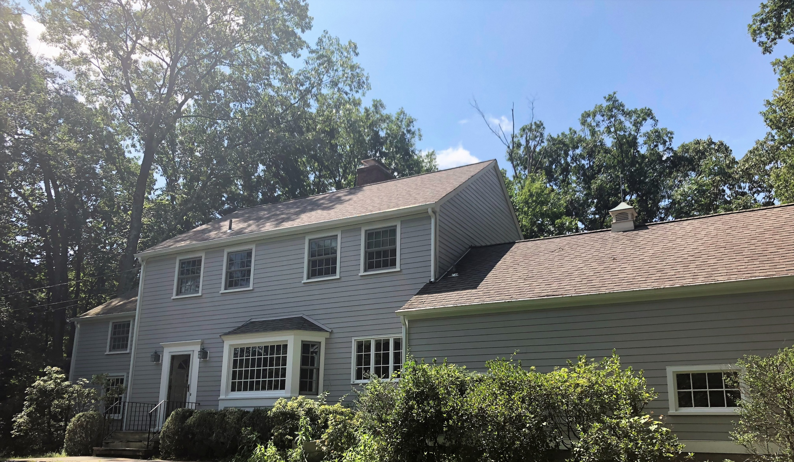 After James Hardie Fiber Cement Installation in Wilton, CT