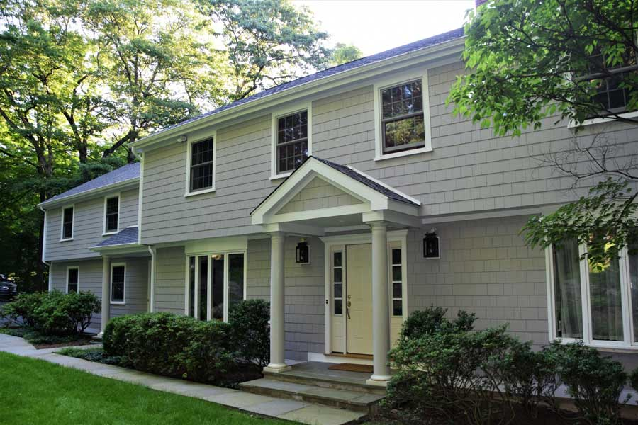 After Full Exterior Remodel in Greenwich, CT