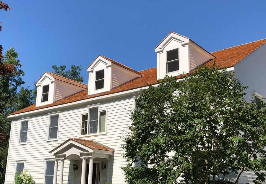 After Artisan James Hardie & Cedar Roofing in Wilton, CT